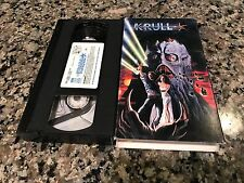 Krull VHS! 1983 Vintage Sci-Fi! Excalibur Clash Of The Titans Willow Star Wars