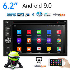 Android 9.0  Double 2Din 6.2inch DVD/CD Car Stereo In Dash Radio Vedio Player
