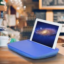 iTray Lap Desk iBed Blue iPad Universal Tablet eReader Microbead Cushion Stand
