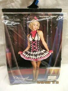 Ladies Harlequin Honey Costume Size X-Large