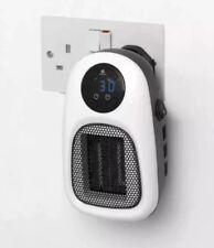 STAYWARM 500w Plugin Wall Power Fan Heater Ceramic PTC Socket Heater 2 Fan Speed