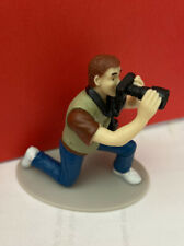 Collector Photographer Action Figure Figurine Accoutrements Camera Man Loose VGC