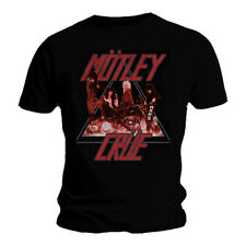 Official Motley Crue T Shirt Too Fast Cycle Black Classic Rock Metal Band Tee