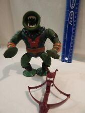 He-Man MOTU Masters / Universe LEECH Loose Complete Brown Bow Tight Stands Holds
