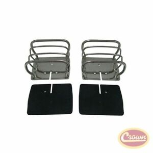 Euro Guard Set (Stainless) - Crown# RT34090