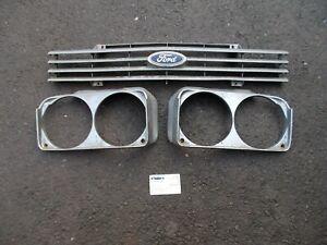 Ford Capri MK3. Front grille & headlamp bezels