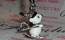 Charm for Bracelet, Necklace New Juicy Couture Ski Mouse