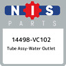 14498-VC102 Nissan Tube assy-water outlet 14498VC102, New Genuine OEM Part