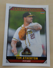 Tim Atherton 2018/19 Australian Baseball League card - Brisbane Bandits