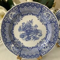 """The Spode Blue Room Collection Traditions Series """" SEASONS 10 1/4 Dinner Plate"""