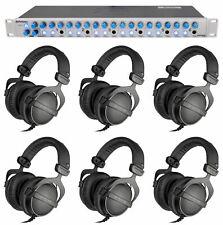 6) Beyerdynamic DT-770-PRO-32 Studio Tracking Headphones+Presonus Headphone Amp