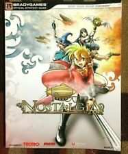 NOSTALGIA BRADYGAMES OFFICIAL STRATEGY GUIDE