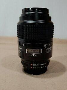 Nikon AF MICRO NIKKOR 105mm 1:2.8 D
