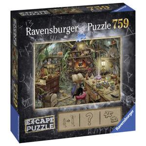 Ravensburger The Witches Kitchen 759 Piece Escape Puzzle Extra clues via QR Code