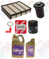 Filter TUNE UP Kit + 6QTS ENEOS 5w-30 Oil for TOYOTA Tacoma 4Runner 3.4L