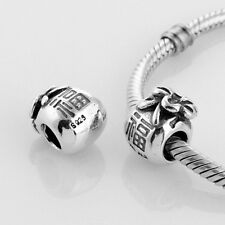 CHINESE MONEY BAG POUCH  .925 Sterling Silver European Charm Bead