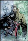 "Batman - Framed Comic Poster (Hush - Faces - Catwoman Harley Quinn) (24"" X 36"")"