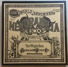 The Wright Brothers Overland Stage Company Memorabilia Box SIGNED 2xLP Vinyl Set