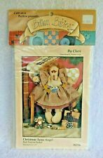 Button Babies Doll Pattern Packet - 'Christmas Tyme Angel' - #6236 - NIP