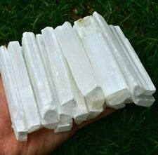 Wholesale Crystal Selenite Natural Raw Stick Wand Chunks Grade A+ Gemstone UK✔