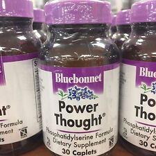 Bluebonnet Nutrition Power Thought 30caplets Phosphatidylserine Cognitive New