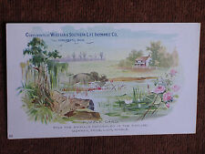Western & Southern Life Insurance Co-Cincinnati OH 1880s Puzzle Trade Card