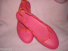 "womens mary jane pink crocs size w <ne translation=""$num"" entity=""9"">$num</ne> pre-owned"
