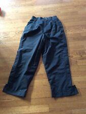 Ladies Black Zero Restriction Gortex Rain Pants S