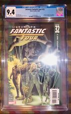 ULTIMATE FANTASTIC FOUR #32 CGC 9.4 -- WHITE PAGES! MARVEL ZOMBIES STORY! 2006