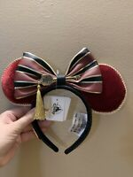 *NEW Disney HOLLYWOOD Tower Hotel Of TERROR Minnie Ears Headband Loungefly HTH