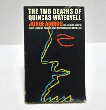 The Two Deaths of Quincas Wateryell by Jorge Amado 1965 First Edition 1st Knopf