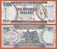 P36b2   Guyana     100  Dollar  2012   UNC   !!