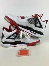 Air Jordan 4 Retro 'Fire Red 2012' 308497 110 Size 10  VNDS WITH OG BOX