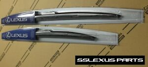 Lexus GS300 GS350 GS460 (2006-2011) OEM Front WIPER BLADE SET - (Sleek Profile)
