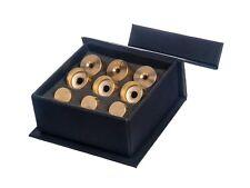Yamaha HEAVY Trumpet Trim Kit. KGUBrass. Raw Brass. TKHR100 +Turquoise stones
