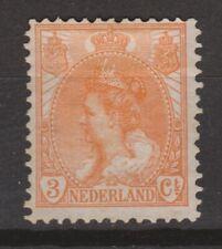 NVPH Netherlands Nederland 56 MLH Wilhelmina bontkraag 1899 No gum