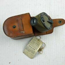 Ww1 Creagh-Osborne Mark Ii Mod. E Marching Compass With Rare Paper Tag And Case