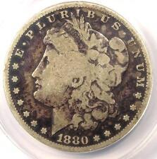 1880-CC Morgan Silver Dollar $1 - Certified ANACS G6 (Good) - Rare Carson City!