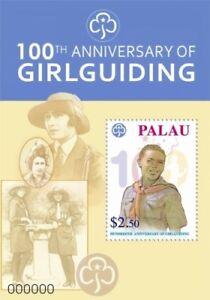Palau 2010 - Girl Guiding 100th Anniversary - Souvenir Sheet -  MNH