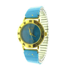 Pierre Nicol Faux Turquoise Stretch Watcj  .8 one size