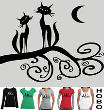 Cats Long Sleeve Regular Size T-Shirts for Women