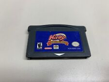 Authentic Kirby & The Amazing Mirror Gameboy Advance Video Game
