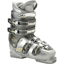 Nordica One 40 W Ski Skiing Boots Gray Mondo 23.5 Womens 6.5  + K2 decal $400