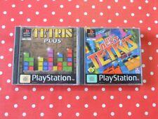 The Next Tetris + Tetris Plus playstation 1 ps1 psx dans neuf dans sa boîte avec mode d'emploi