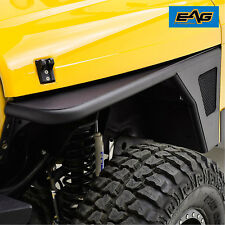 97-06 Jeep Wrangler TJ Front Fender Flare with Eagle Light Textured Tube&SS Mesh