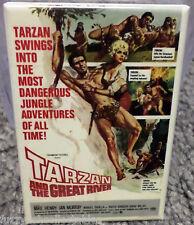 "Tarzan and the Great River Movie Poster 2"" x 3"" Refrigerator Locker MAGNET Henry"