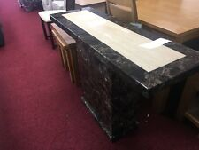 PATRA MARBLE CONSOLE TABLE..HIGH ST PRICE £529