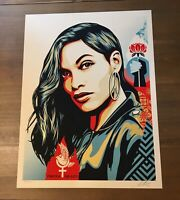 Shepard Fairey Obey POWER EQUALITY Signed Numbered Screen Print