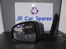 07-11 FORD MONDEO MK4 N/S PASSENGERS SIDE ELECTRIC WING MIRROR LIGHT BLUE