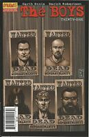 The Boys Comic Issue 31 Modern Age First Print 2009 Garth Ennis Darick Robertson